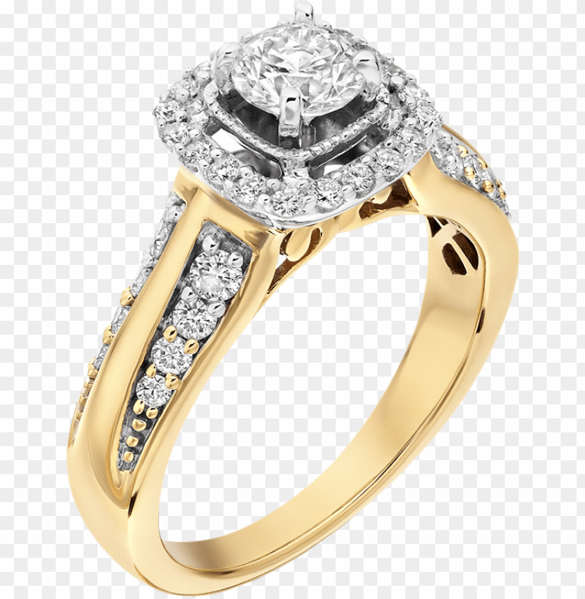 Diamond Wedding Rings Png Png Image With Transparent Background Toppng