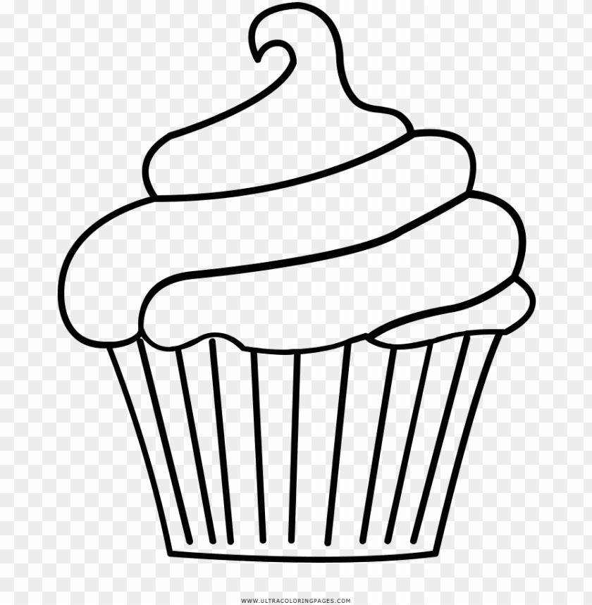 Dibujos O Moldes De Cupcak Cupcake Disegni Da Colorare