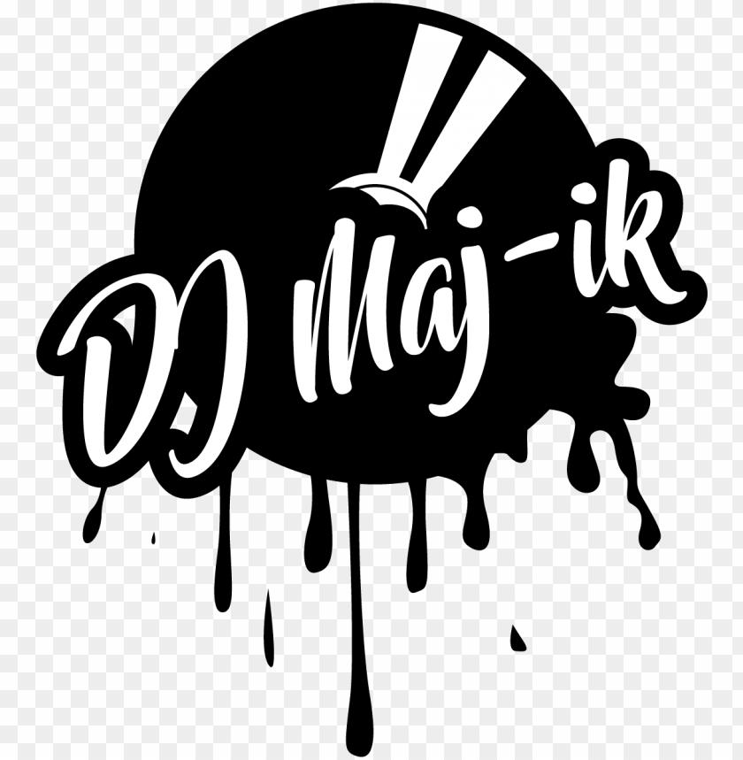 free PNG dj logo design - disc jockey PNG image with transparent background PNG images transparent