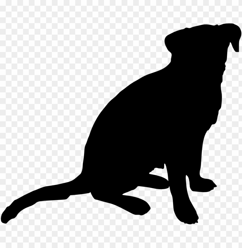 dog silhouette png free png images toppng