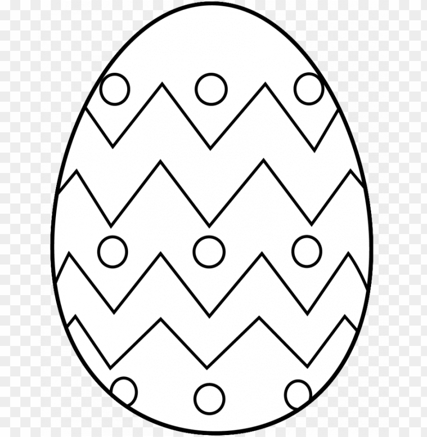 free PNG download easter clipart black and white - easter egg cartoons black and white PNG image with transparent background PNG images transparent