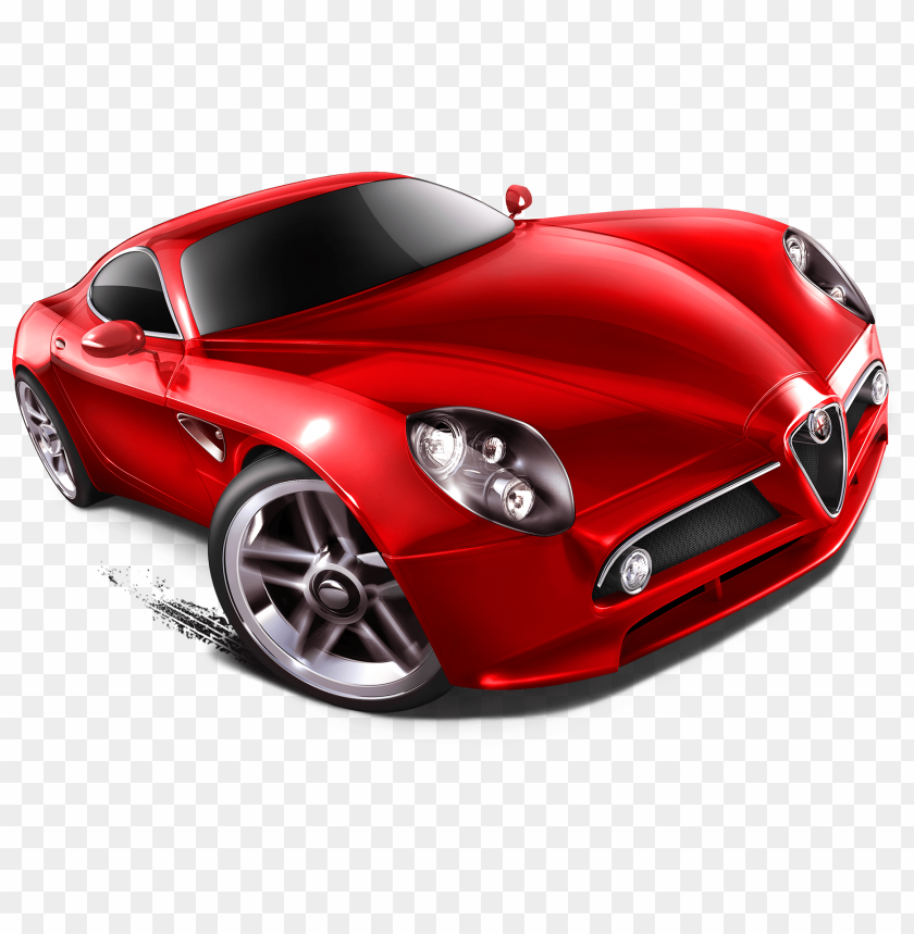 Drawn Lamborghini Hot Wheel Red Hot Wheel Car Png Image With