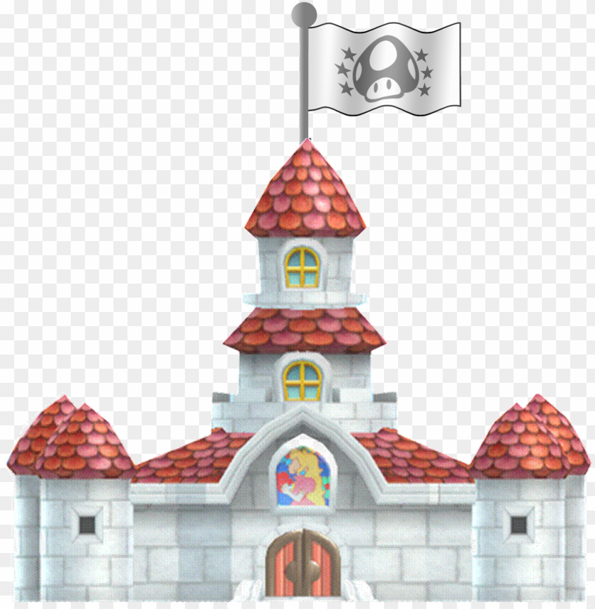 eachs castle sm3dl3 - new super mario bros wii PNG image