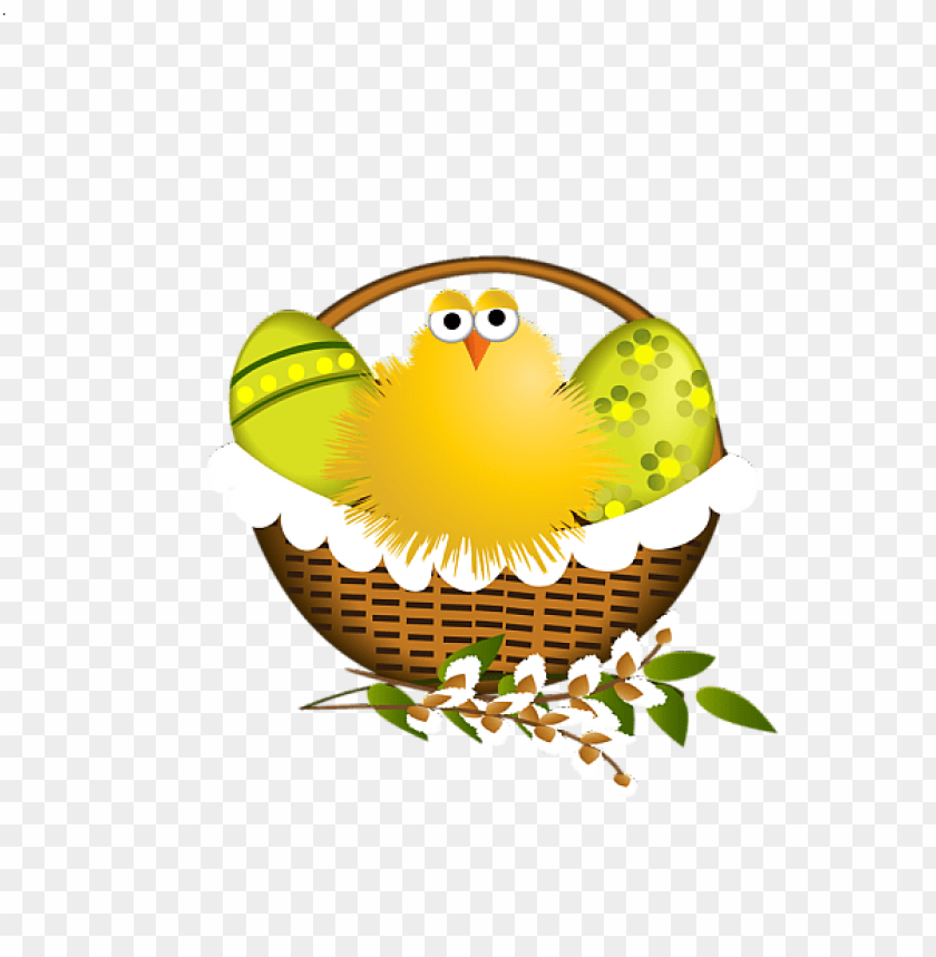 free PNG Download easter basket with chicken png images background PNG images transparent