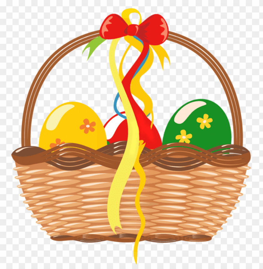 free PNG Download easter basket with eggspicture png images background PNG images transparent