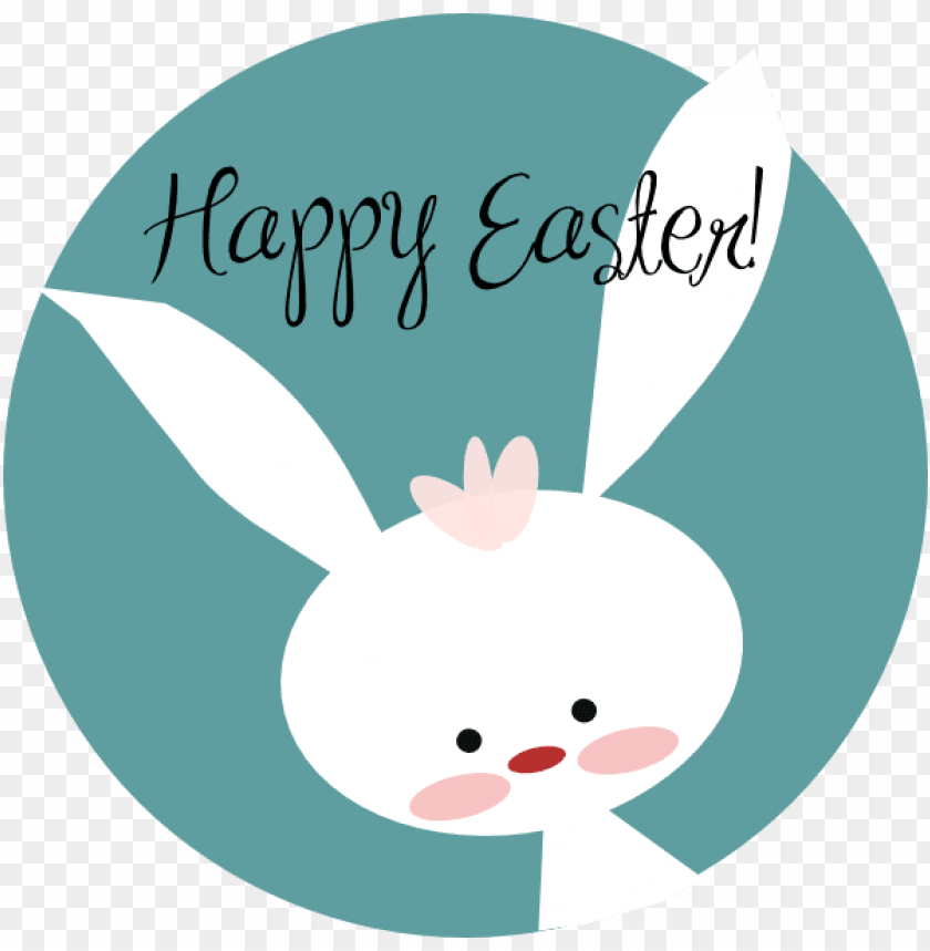 free PNG easter bunny happy easter PNG image with transparent background PNG images transparent