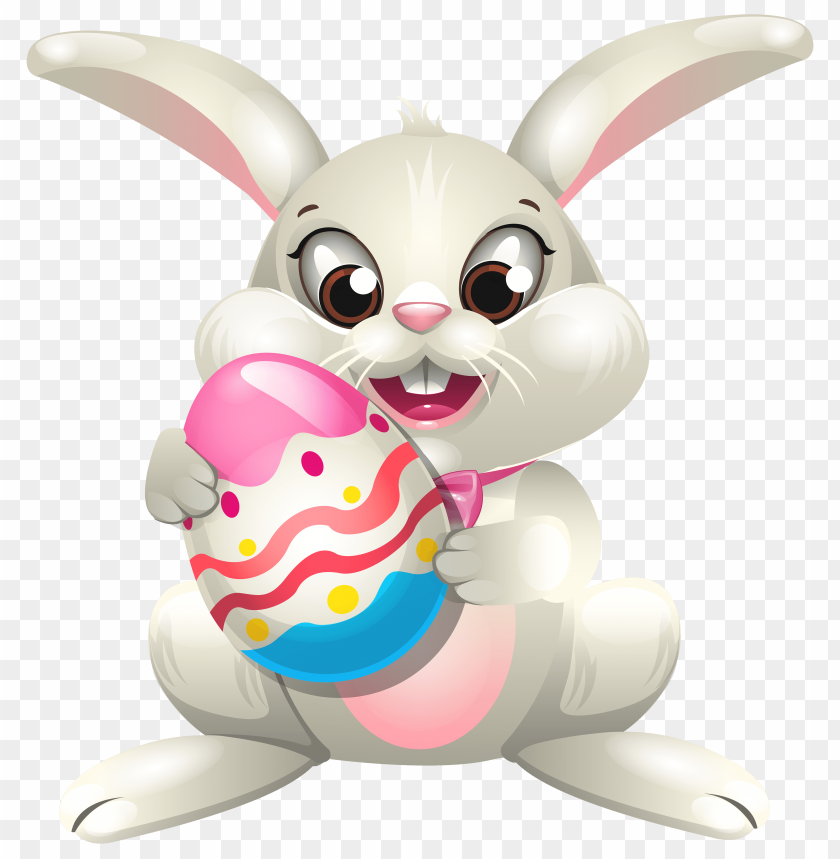 free PNG Download easter bunny whit egg clipart png photo   PNG images transparent