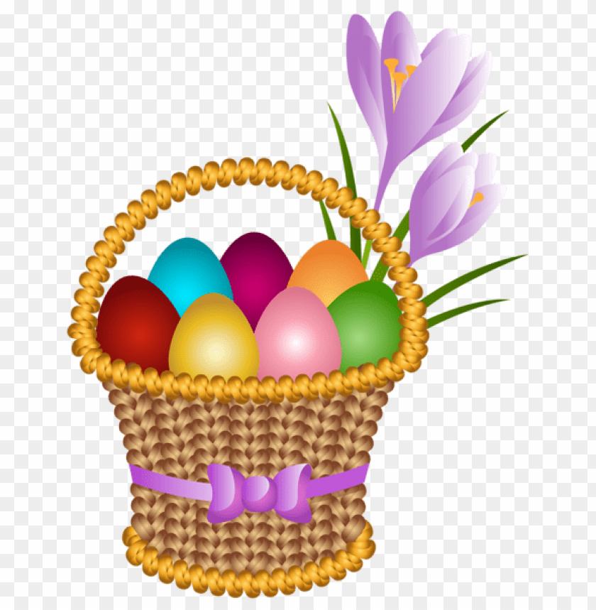 free PNG Download easter egg basket transparent png images background PNG images transparent