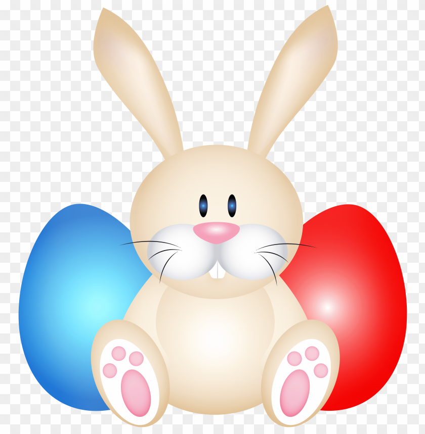 free PNG Download easter rabit whit eggs clipart png photo   PNG images transparent