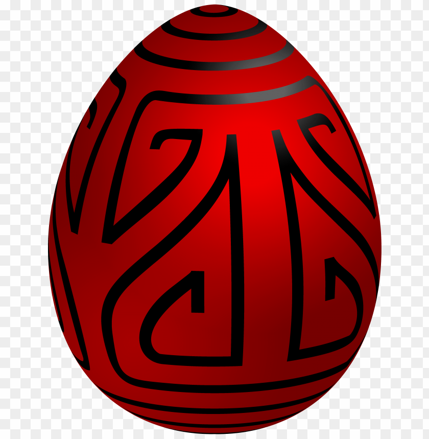 free PNG Download easter red deco egg clipart png photo   PNG images transparent