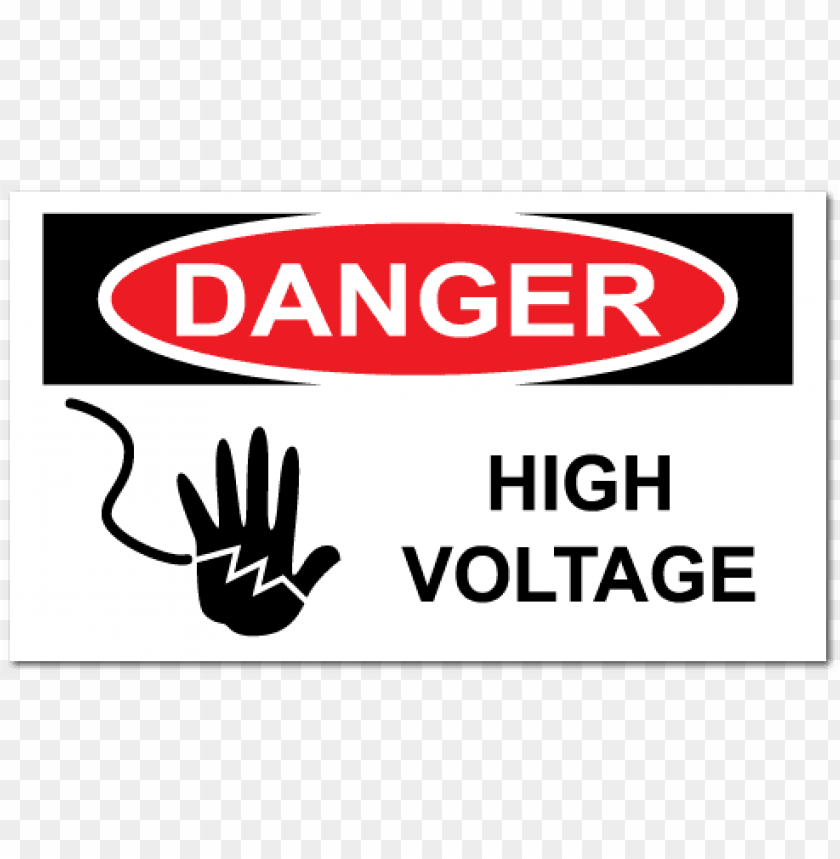 electrical safety sign board PNG image with transparent background