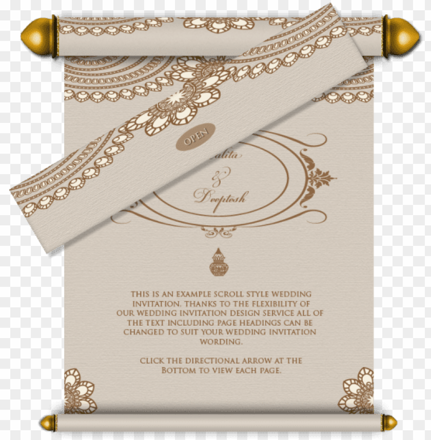 Email Wedding Card Royal Wedding Card Designs Png Image With