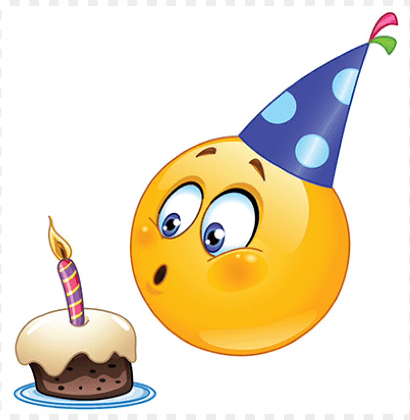 Free PNG Emoji Birthday Image With Transparent Background Images