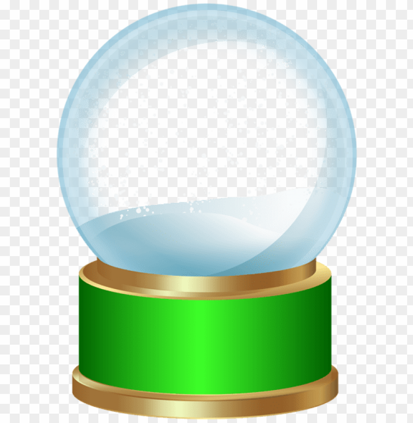 free PNG empty snow globe green png png - Free PNG Images PNG images transparent