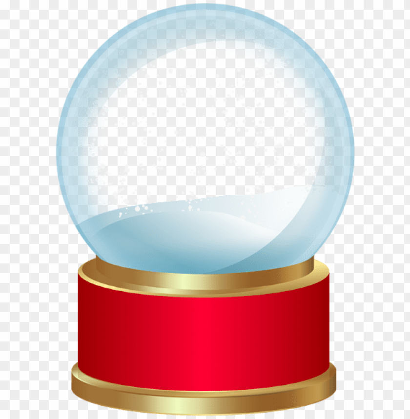 free PNG empty snow globe red png png - Free PNG Images PNG images transparent