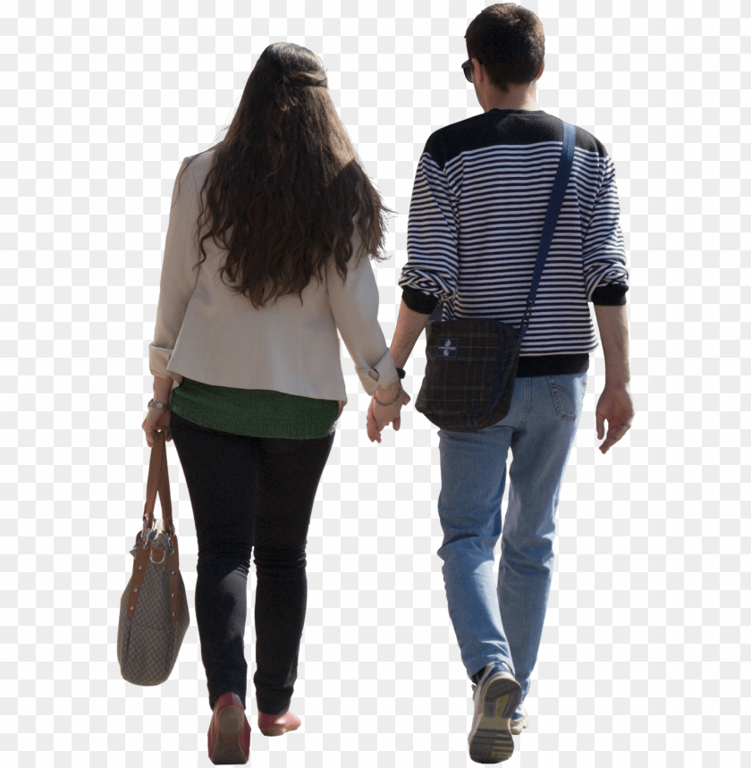 free PNG eople walking png cut out people couple003 - cut out people walking PNG image with transparent background PNG images transparent