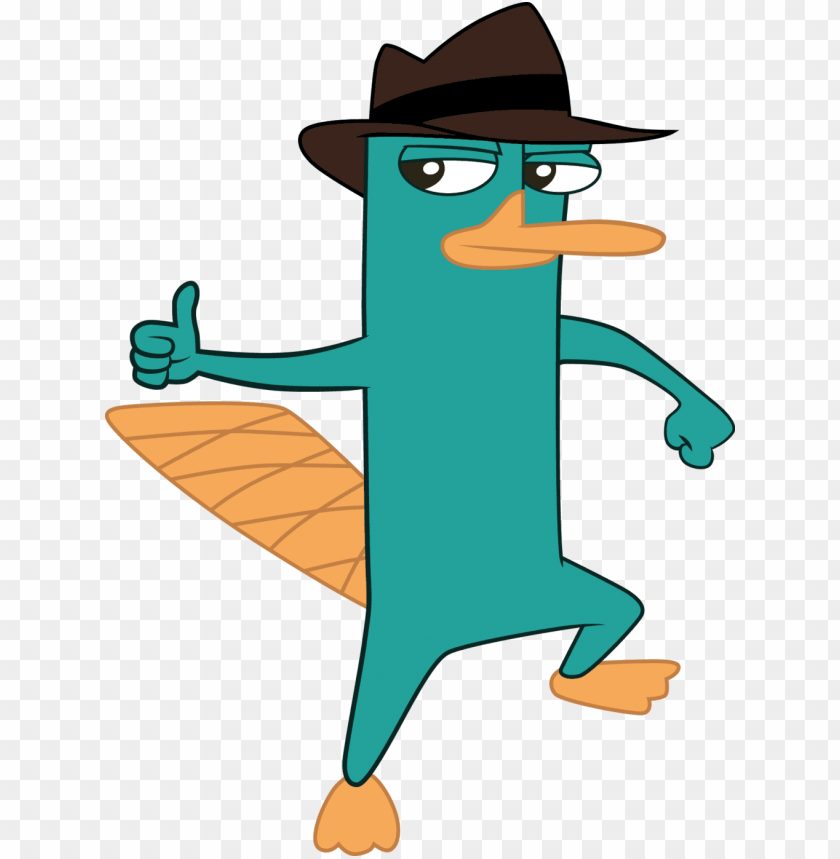 free PNG erry the platypus song - perry the platypus thumbs u PNG image with transparent background PNG images transparent