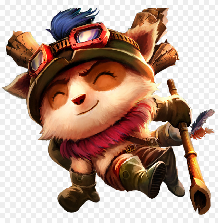 ersonagens de lol png - teemo transparent PNG image with transparent background@toppng.com