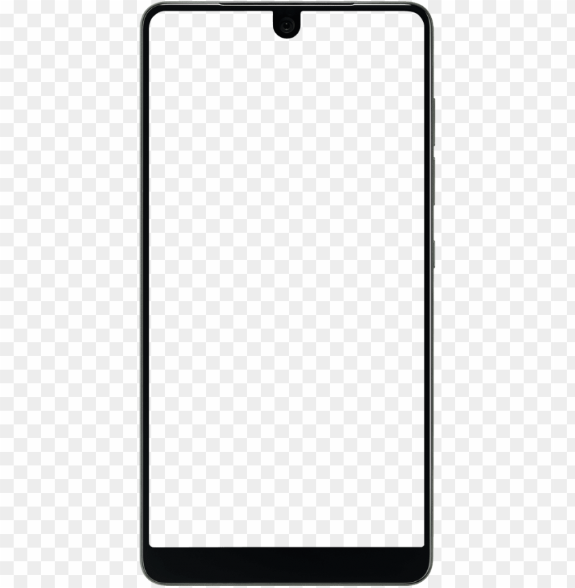 free PNG essential phone free yourself unlocked premium android - android phone frame PNG image with transparent background PNG images transparent