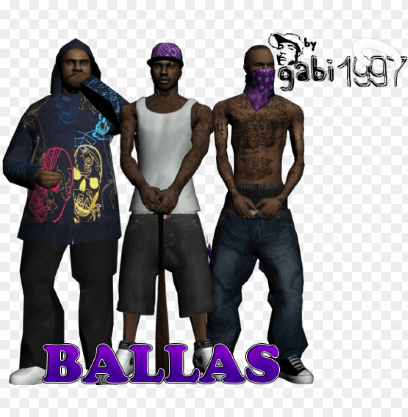 free PNG ew character the ballas gang for gta san andreas - skin ballas gta sa PNG image with transparent background PNG images transparent