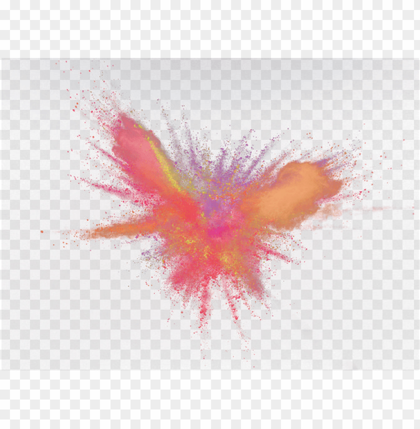free PNG explosion of color png - color powder makeup explosion PNG image with transparent background PNG images transparent