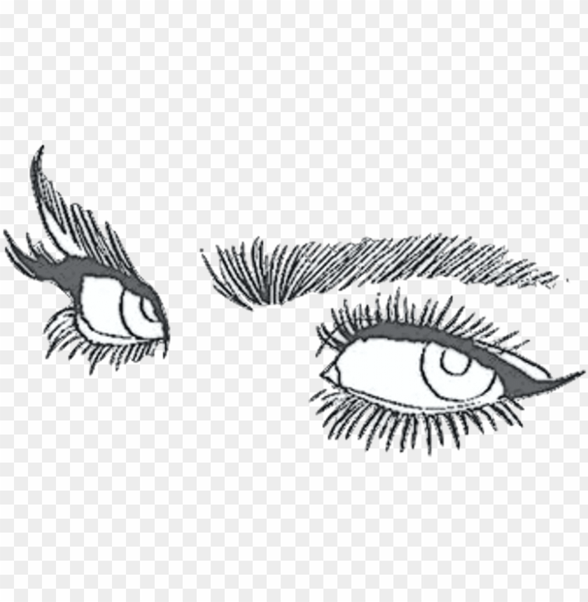 free PNG eye drawing tumblr aesthetic PNG image with transparent background PNG images transparent