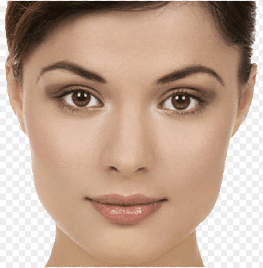 free PNG Download face close up brunette png images background PNG images transparent