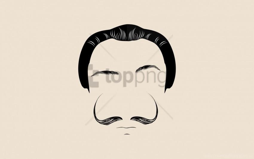 face, hair, mustache wallpaper