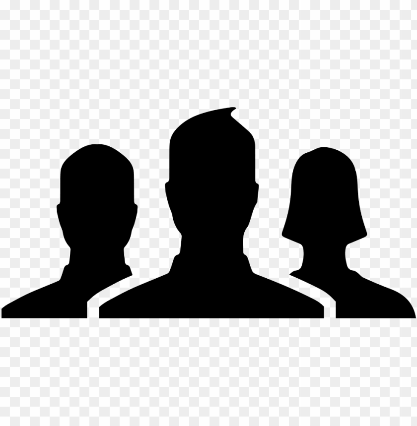 free PNG facebook group svg  icon free- facebook group icon png - Free PNG Images PNG images transparent