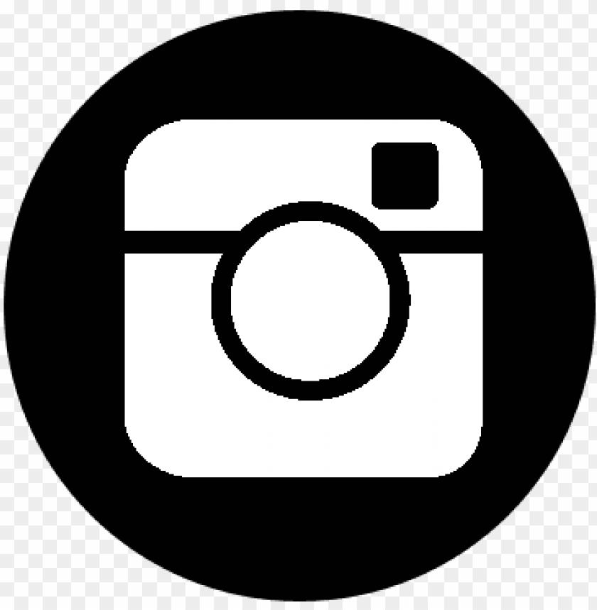 Facebook Twitter Instagram Logo Black And White Png Image