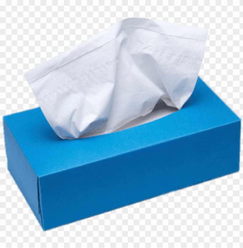 free PNG facial tissues blue box - box of tissue PNG image with transparent background PNG images transparent