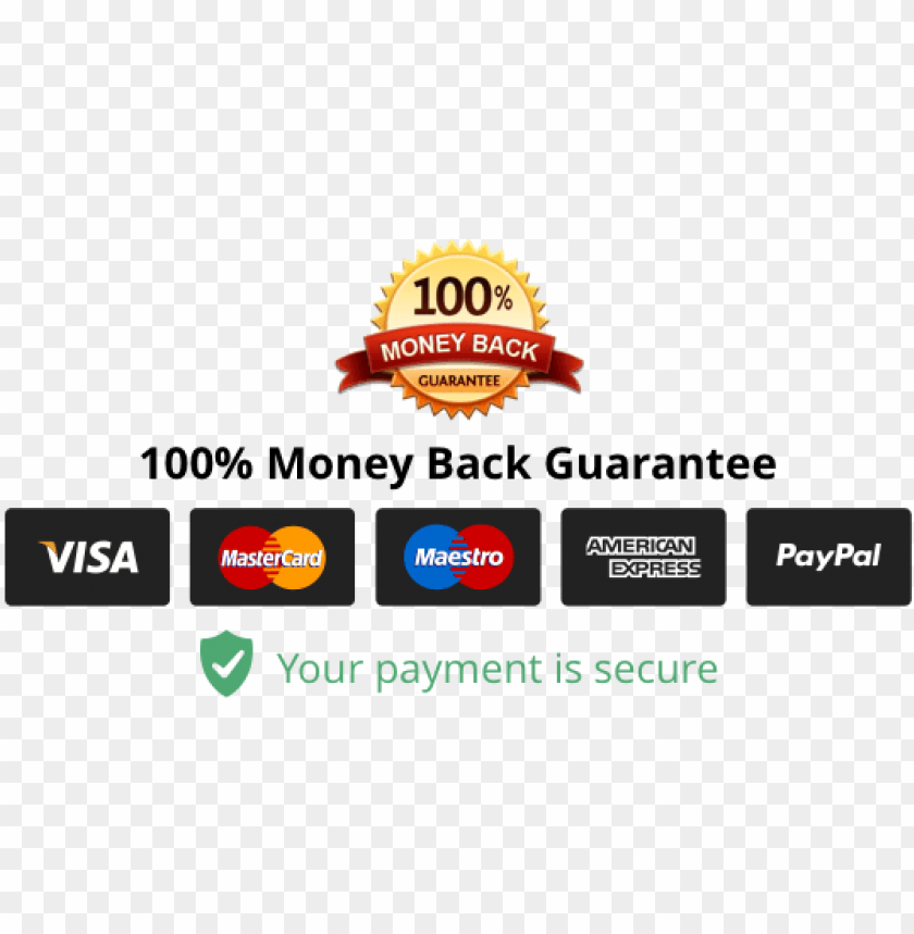 free PNG fashion colorful - money back guarantee badge shopify PNG image with transparent background PNG images transparent