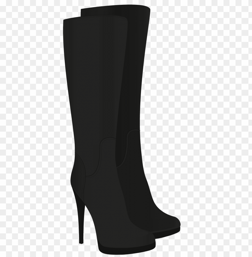 free png female black boots PNG images transparent