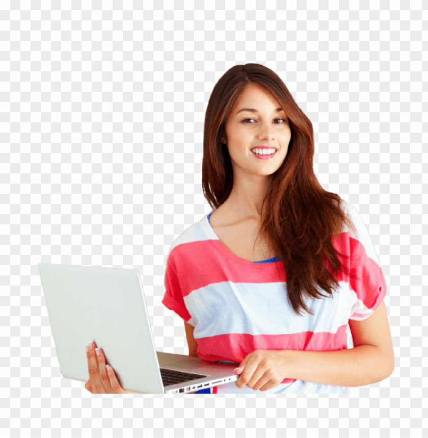 Download female student png images background@toppng.com