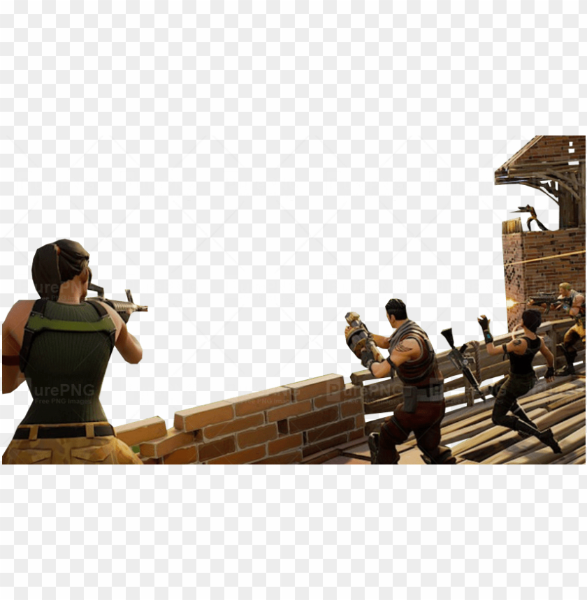 fighting fortnite youtube thumbnail template - video game