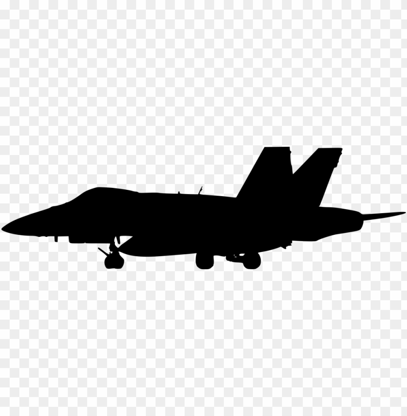 free PNG figther plane side view silhouette png - Free PNG Images PNG images transparent