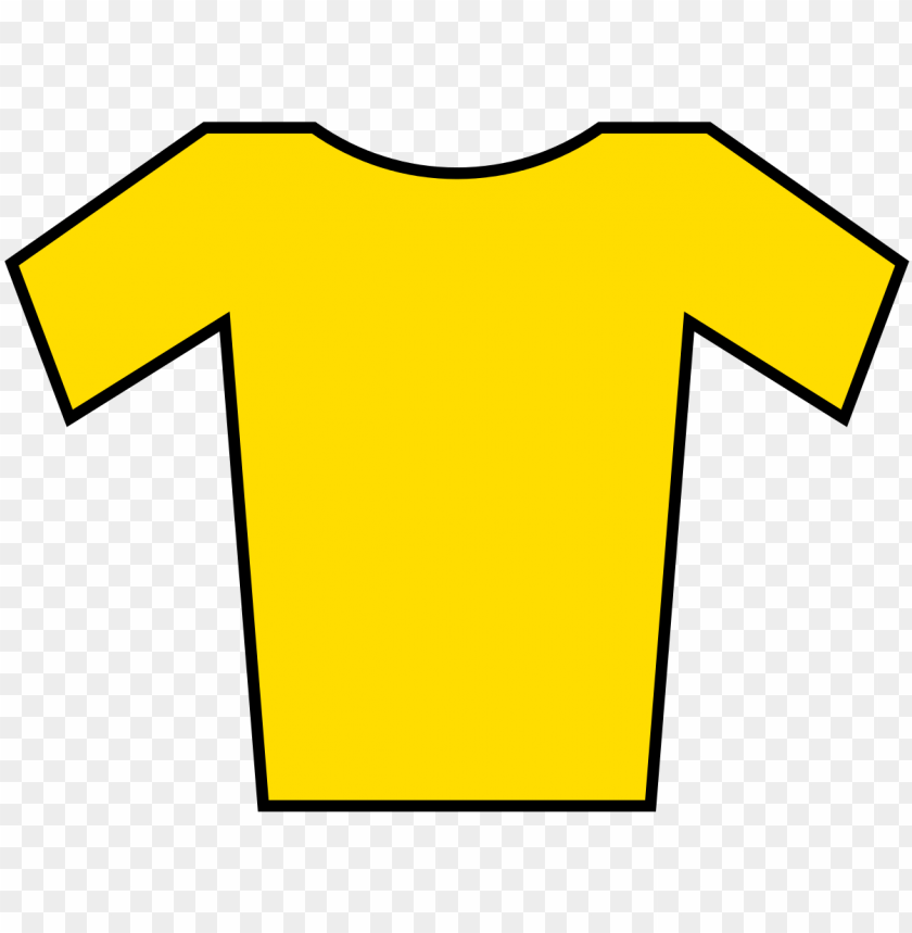 free PNG file - jersey yellow - svg - yellow jersey PNG image with transparent background PNG images transparent