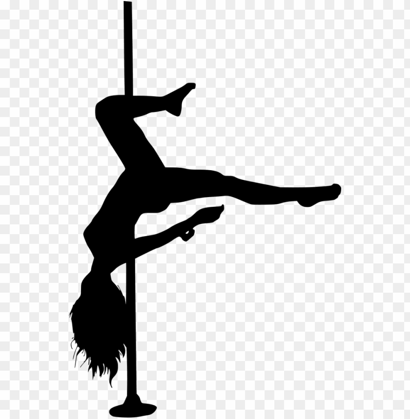 free PNG file size - pole dancer silhouette free PNG image with transparent background PNG images transparent
