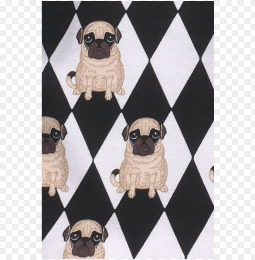 filemon kid leggings pug diamond aop - pu PNG image with transparent background@toppng.com