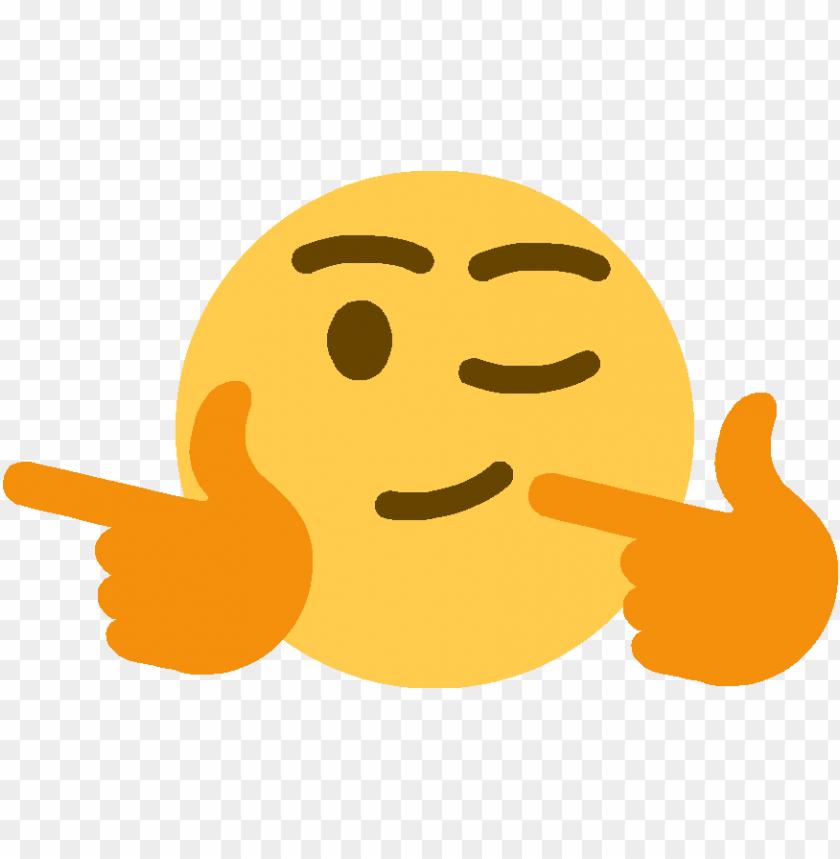 fingergunsleft discord emoji - finger guns emoji PNG image with