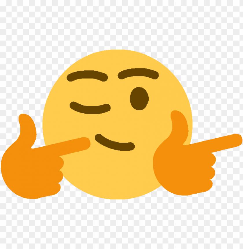fingergunsright discord emoji - finger gun wink emoji PNG