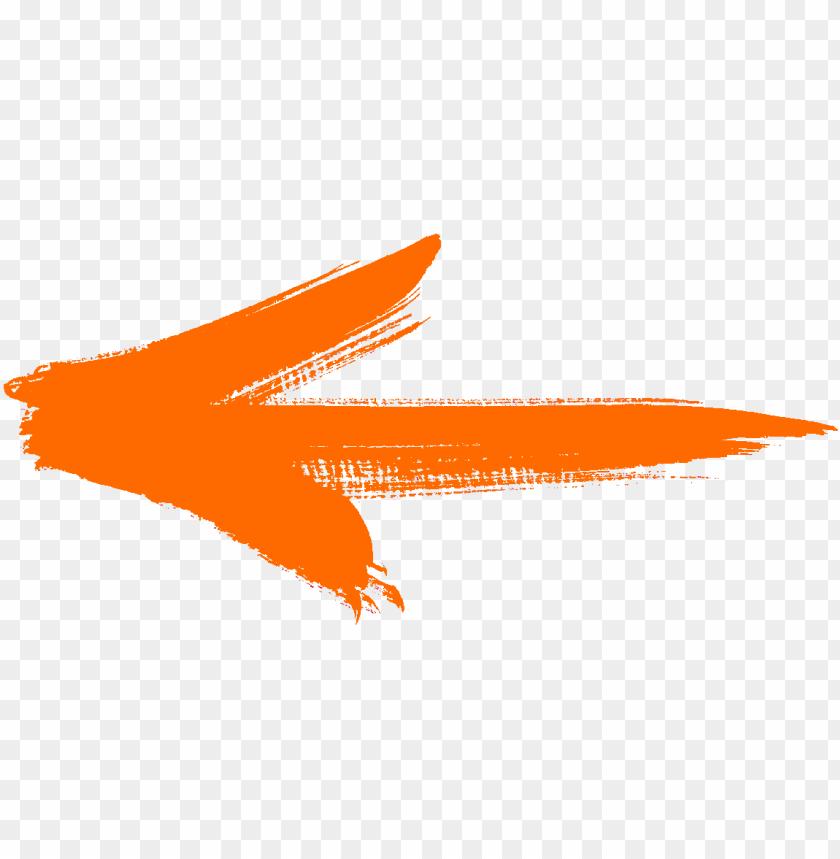 Flechas Naranjas PNG Image With Transparent Background