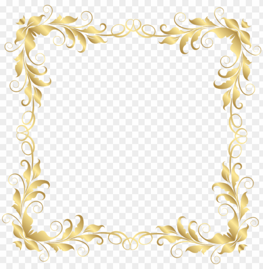 Download Floral Border Frame Clipart Png Photo Toppng