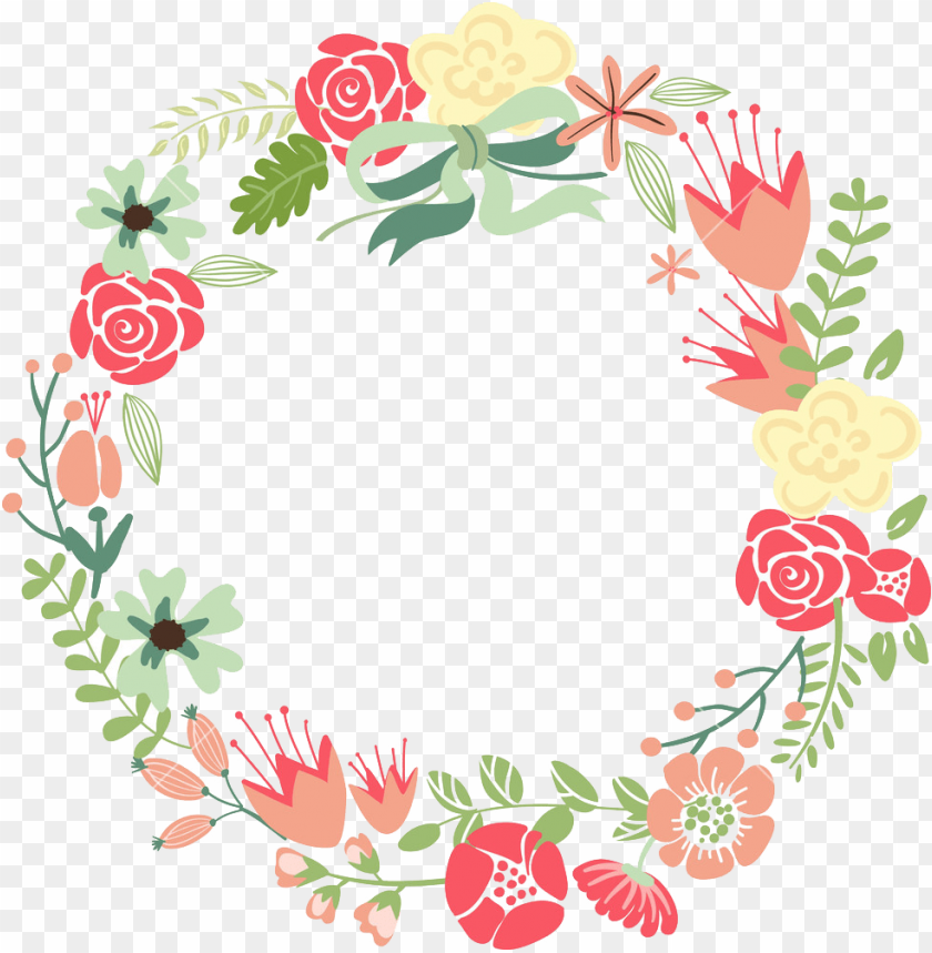 floral frame png free png images toppng