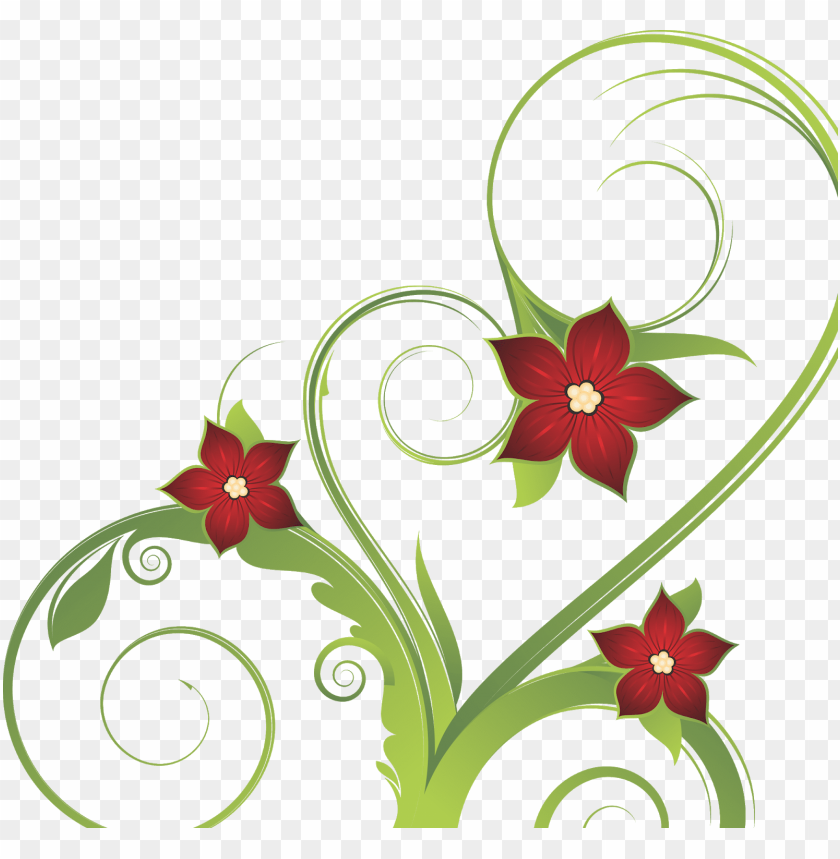 free PNG floral vector png, floral vector, floral png, flower - 直心的修道人:一念本真 一心向善 PNG image with transparent background PNG images transparent