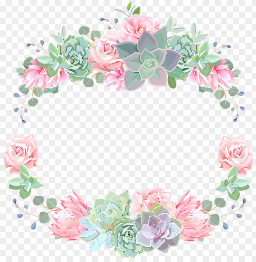 free PNG flower crown colorful spring bloom watercolor floral - watercolor flowers crown png - Free PNG Images PNG images transparent