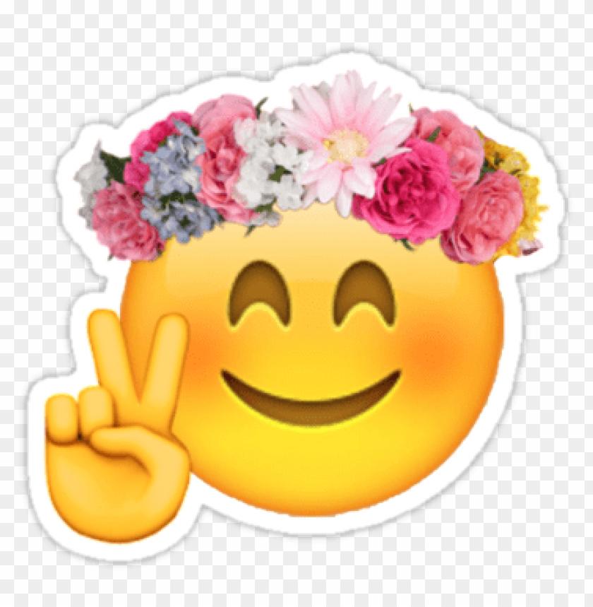 Download flower emoji transparent png - Free PNG Images | TOPpng