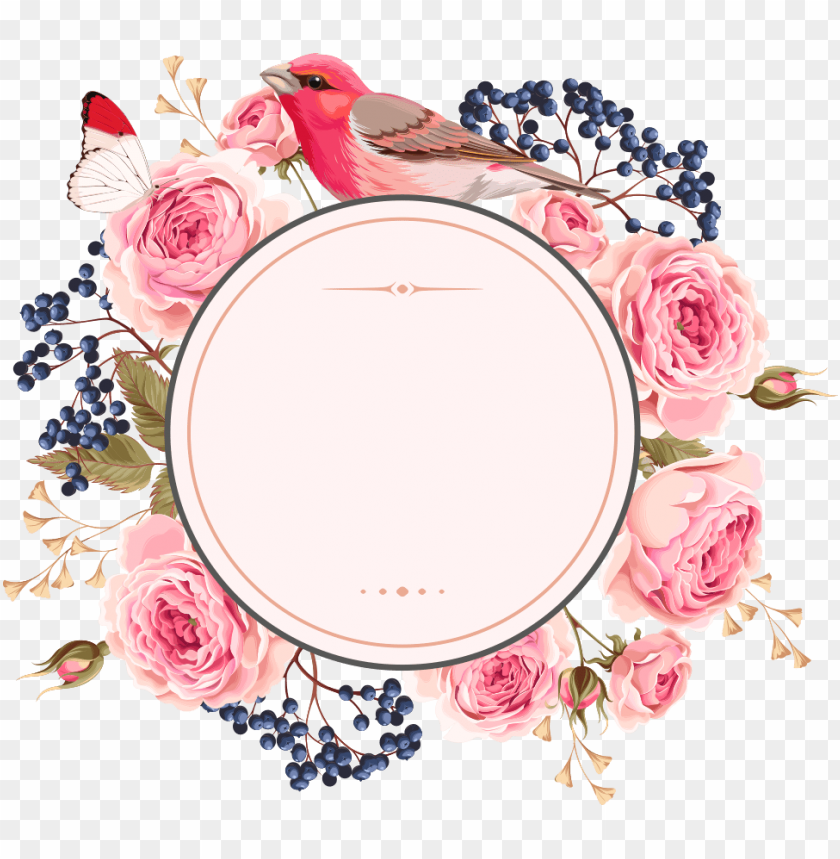 free PNG flower frame, flower art, wallpaper backgrounds, wallpapers, - flower circle vector PNG image with transparent background PNG images transparent