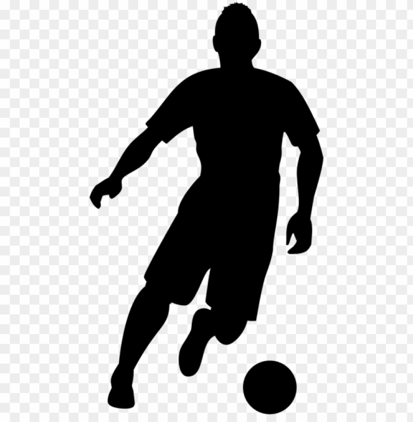 Football Player Silhouette Png Free Png Images Toppng