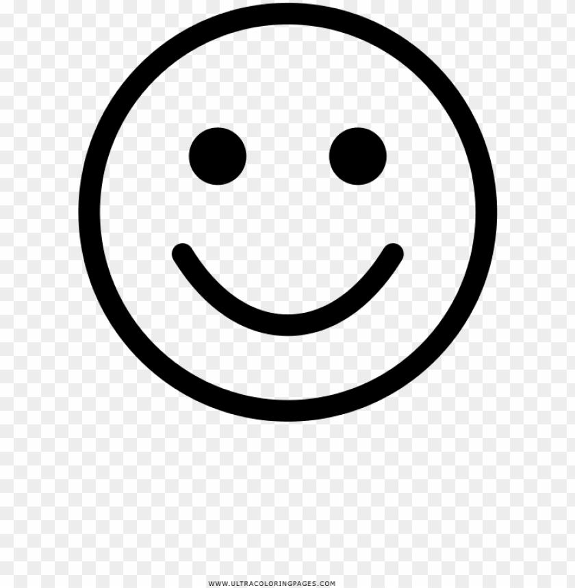 Free Carita Feliz Para Colorear De Emoji Para Desenhar Png Image
